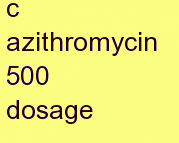g azithromycin 500 dosage
