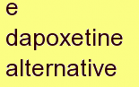 v dapoxetine alternative