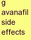 l avanafil side effects