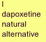 p dapoxetine natural alternative