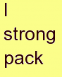f strong pack