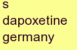 r dapoxetine germany