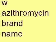t azithromycin brand name