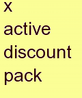 g active discount pack