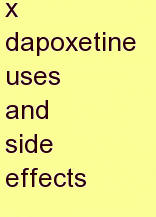 c dapoxetine uses and side effects